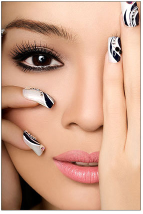 nail and beauty salon in ellesmere port   davina nails and
